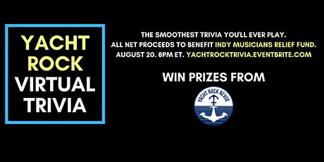 Yacht Rock Virtual Trivia tickets