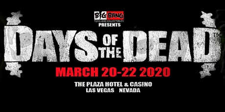 Days Of The Dead Las Vegas 2020 - Vendor Registration tickets