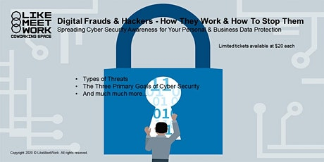 Digital Frauds & Hackers: How They Work & How to Stop Them tickets