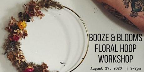 Booze & Blooms: Floral Hoop Workshop in Montauk tickets