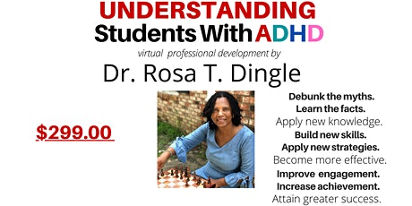 Understanding Students with ADHD  Virtual Professional Development tickets
