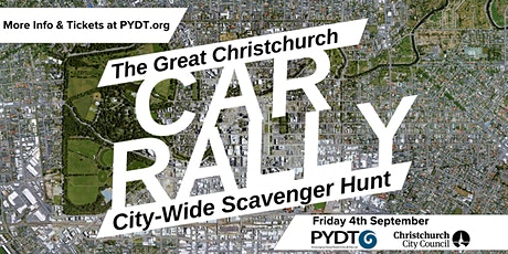The Great Christchurch Car Rally tickets