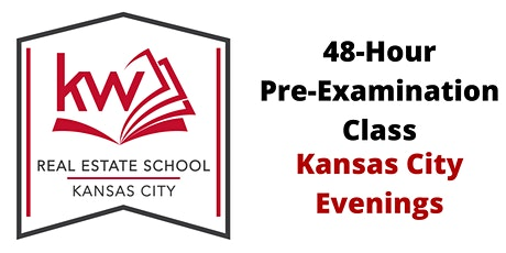Missouri Real Estate 48-Hour Pre-Examination Evening Class (KC) tickets