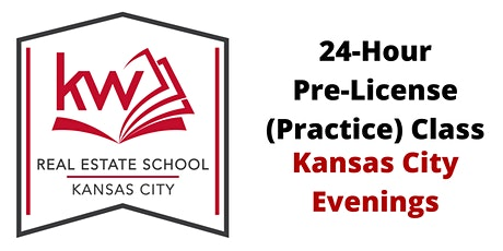 Missouri Real Estate 24-Hour Pre-License Evening Class (KC) tickets