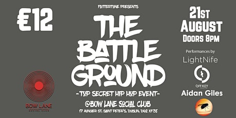 The Battle Ground - Hip Hop Festival - tickets