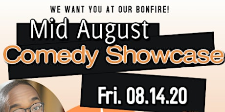 100% of sales goes to artist! Mid August Comedy Showcase tickets