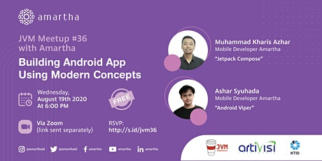 JVM Meetup #36 with Amartha - Building Android App Using Modern Concepts boletos