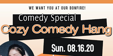 100% of sales goes to artist! Cozy Comedy Hang tickets