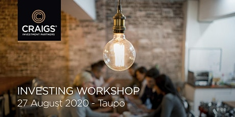 Investing Workshop - Taupo tickets