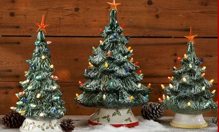Christmas Tree Painting Party image