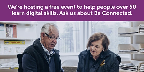 Connecting with Others - Be Connected session @ Kingston Library tickets