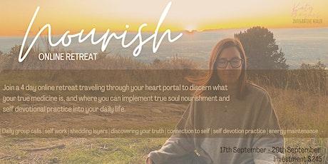 Nourish - Online Retreat  tickets