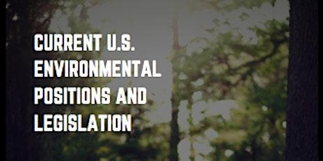 LWV-VA Current U.S. Environmental Positions and Legislation with Bill Mugg tickets