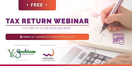 Tax Return Webinar tickets