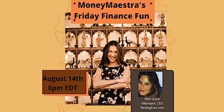 MoneyMaestra's Friday Finance Fun Tickets