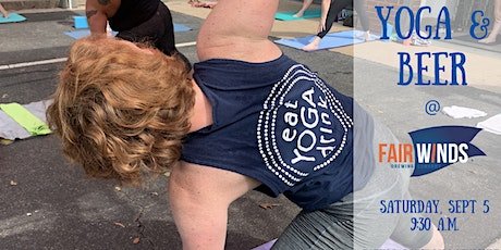 Yoga and  Beer at Fair Winds! tickets