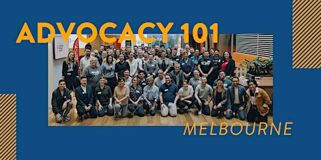Advocacy 101 - Melbourne tickets