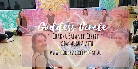 Goddess Circle - Chakra Balance tickets