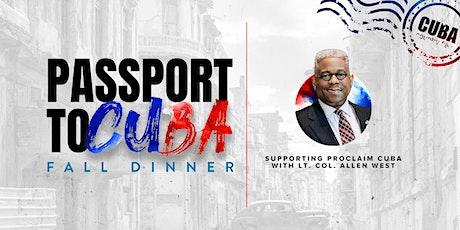 Passport to Cuba 2020 tickets