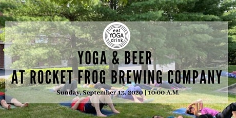 Yoga and Beer at Rocket Frog Brewing tickets