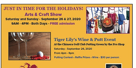 Arts & Craft Show, Sept. 26th & 27th, 2020 tickets