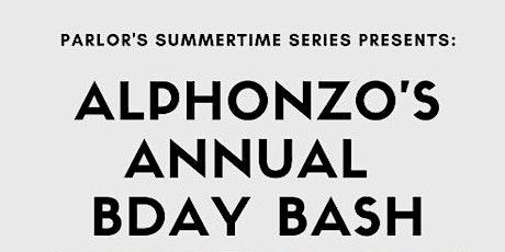 Alphonzo's Annual Bday Bash tickets
