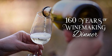 Tahbilk's 160 Years of Winemaking Dinner | Melbourne tickets