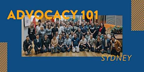 Advocacy 101 - Sydney tickets