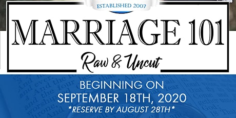 Marriage 101: Raw and Uncut tickets