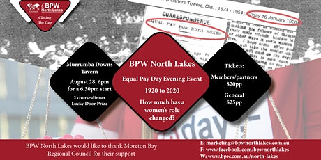 BPW North Lakes Equal Pay Day Evening Event tickets
