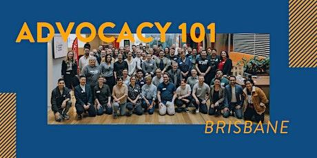 Advocacy 101 - Brisbane tickets