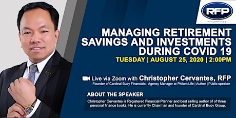 Managing Retirement Savings and Investments During Covid19 tickets