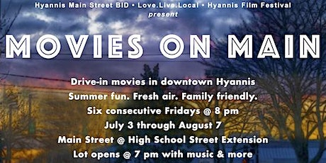 Movies on Main - The Goonies tickets