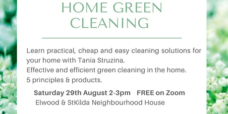 Home Green Cleaning tickets