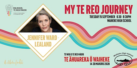 Jennifer Ward-Lealand, My Te Reo Journey tickets