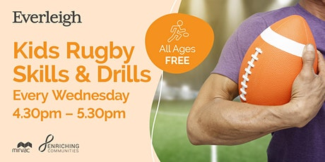 FREE Rugby Skills for Kids at Everleigh Park tickets