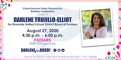 DARLENE TRUJILLO-ELLIOT for Riverside USD Board of Trustees - Area 4 tickets