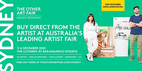 The Other Art Fair Sydney - 3-6 December 2020 tickets