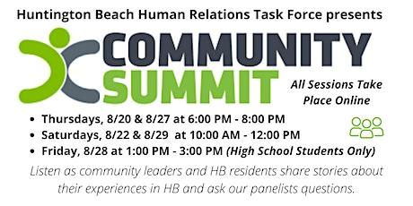 Huntington Beach Human Relations Task Force Community Summit tickets