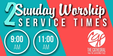 2 Sunday Worship Services tickets