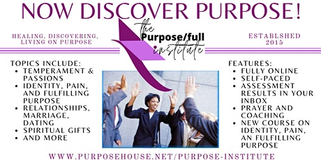 The Purpose/full Institute Online: Information Session tickets