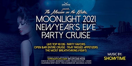 San Diego Pier Pressure Moonlight New Year's Eve Party Cruise 2021 tickets