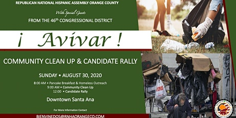 Avivar: Community Clean Up & Candidate Rally tickets