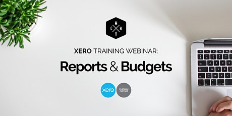 XERO TRAINING: Using Reports & Budgets tickets