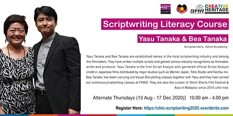 Scriptwriting Literacy Course tickets