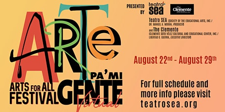 Arte Pa' Mi Gente Arts for All Festival 2020 tickets