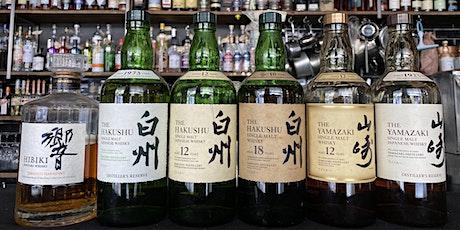 Cobbler Whisky Dinner: Yamazaki-Hakushu-Hibiki tickets