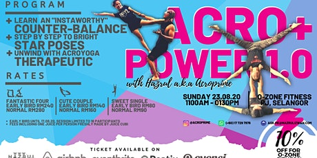 Acro+ Power 1.0 (Acroyoga) tickets
