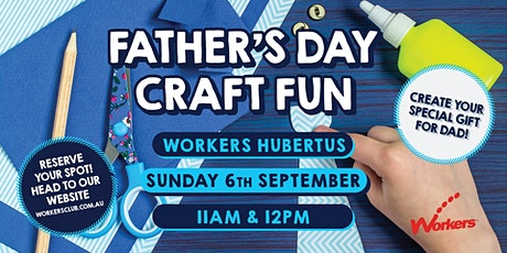 Kids Club - Father's Day Craft Workshop tickets