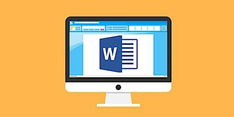 Basics: Microsoft Word tickets